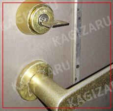 鍵を修理する・錠前故障